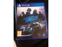 Need for speed ps4 excellent condition