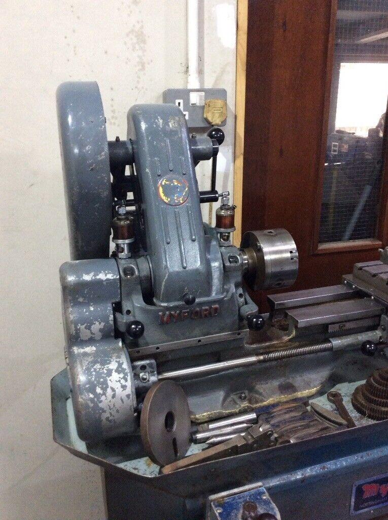 Myford ML7 lathe in very good working order  240v reversing machine  | in  Pembroke, Pembrokeshire | Gumtree