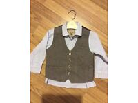 Gorgeous Next shirt and waistcoat age 2-3 years great condition