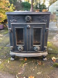 Cast iron woodburner