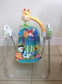 Swing Chair. Fisher Price. Excellent Condition