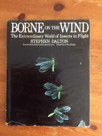 Borne on the Wind Insect Hardback Book