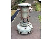 Vintage Aladdin paraffin oil heater stove