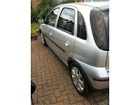 Corsa Vauxhall 1.2 SXI 5 Door in Silver