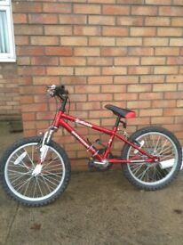 Dawes Barossa Diablo mountain bike suitable for 6-9 year old