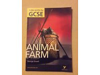 GCSE Animal Farm.