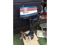 BOAT OUTBOARD MOTOR 4 HORSE POWER YAMAHA USED