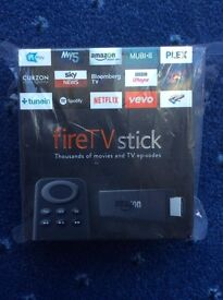 AMAZON FIRE TV STICK - 1000's movies and TV shows - BRAND NEW, SEALED, GIFT ITEM