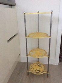 Four tier cast iron saucepan rack Le Creuset