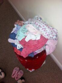 Bundle of size 6-9 clothes