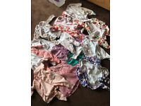 Baby girls bundle of clothes sizes 0 - 3 months