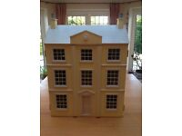 "A LOVELY Dolls House Emporium - ""The Classic"" House - includes Furniture/Lighting Kit/Figures etc."