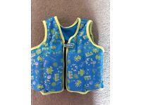Sea Squad swimming jacket aged 2-3 years
