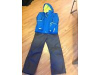 Ski jacket and trousers age11-12