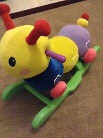 Sit on Caterpillar