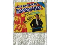 Lingalong Max - Vinyl LP by Max Bygraves personally handsigned