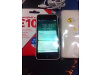 iphone 5C white vodafone,TalkTalk & Lebara good condition