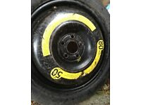 VW spare tyre