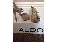 Aldo Nude Heel New Size 6 (39)