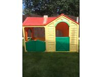 Children's Outdoor Playhouse Cottage