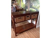 Consol table, hall table, kitchen island