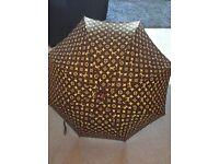 1970s vintage louis vuitton monogram umbrella