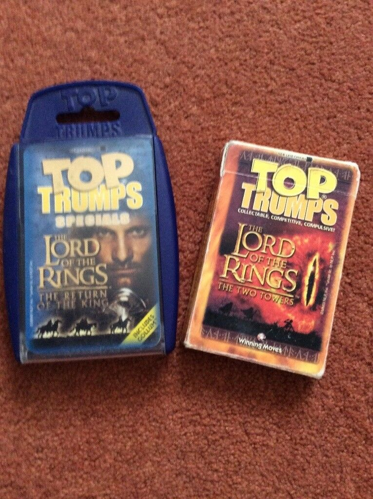 Lord of the Rings Top trumps