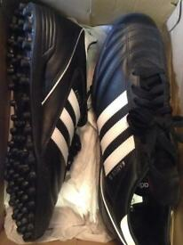 Adidas Kaiser black Astro trainers