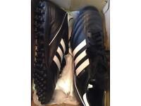 Adidas Kaiser black Astro trainers
