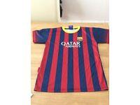 Barcelona football shirt