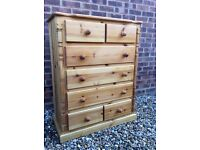 Large Solid Pine Chest of Drawers ... Possible Delivery