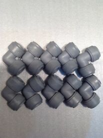 15mm plastic pushfit plumbing fittings.