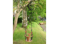 toddler garden swing