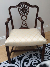 Mahogany Carvers in Perfect Condition - Price negotiable.