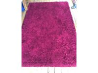 Good quality shaggy rug