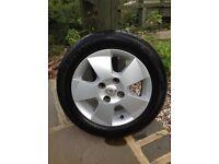 Toyota Aygo wheels/tyres