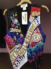Sequin Waistcoat . Millenium Memorabilia