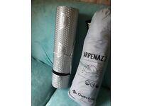 Quechua Arpenaz 2 Tent- Black and silver mat