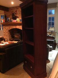 Mahogny bookcase. Bespoke - hand made, Stunning