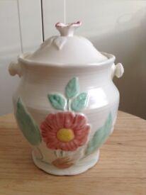 Storage Jar - Weatherby Hanley England, Royal Falcon Ware