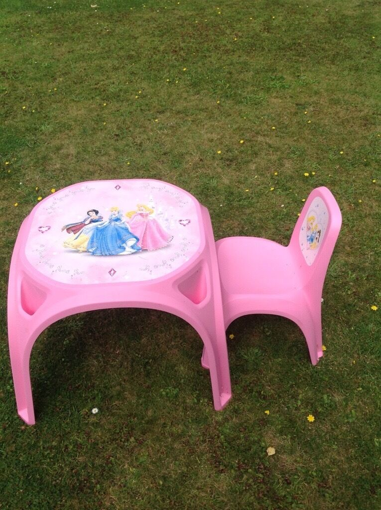 Disney Princess Table and Chair in Bournemouth Dorset  : 86 from www.gumtree.com size 765 x 1024 jpeg 165kB