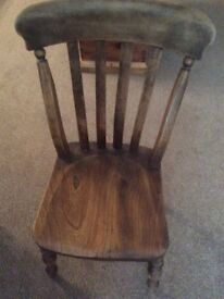 Old dining chair.