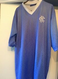 Rangers football top ( genuine )