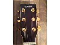 All Solid Wood Yamaha LL-TA TransAcoustic Guitar with A-R-E
