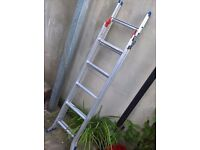 step ladder 3-way in very good condition