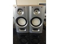 Sony Speakers size 2cm Wide x 40cm High x 220cm Deep.