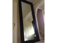 8' HUGE Designer Leaning / Floor Mirror rrp£1,800 - Stunning VERY Large Mirror *DELIVERY*