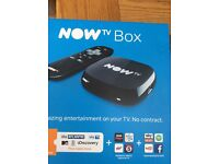 Now Tv box only bought today