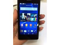 Sony Xperia E3, unlocked to any network. Used but in good condition.
