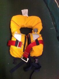 Babies life jacket